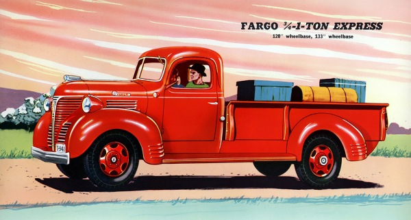 1941 Fargo Express Pickup Body