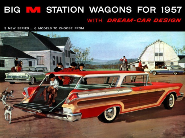1957 Mercury Station Wagon
