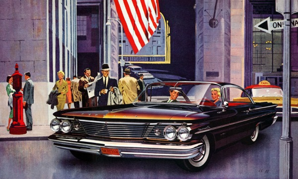 1960 Pontiac Bonneville Sports Coupe