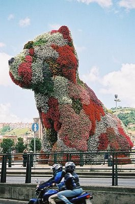 Koons Red Puppy