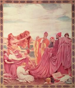 Phoenicians bartering