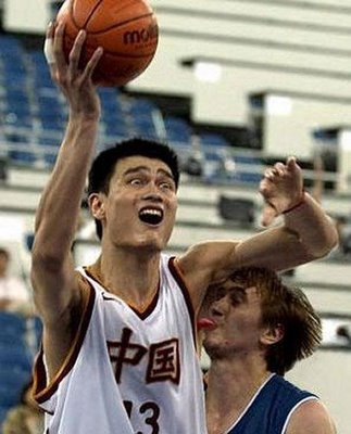Yao Ming and a Very Special Friend