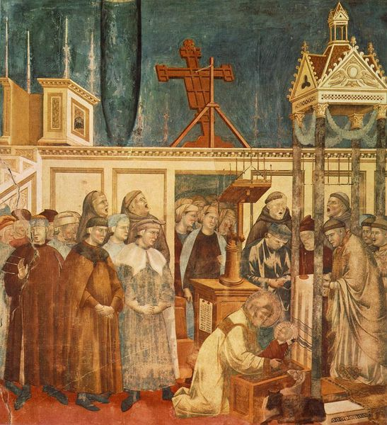 Giotto painting reproduced on the cover of this issue