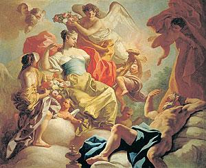 Aurora e Titone, by Francesco de Mura