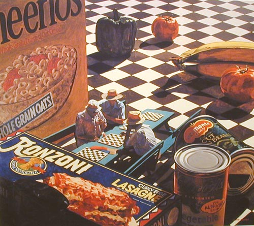 Grocery Checkers, by Scott Moore