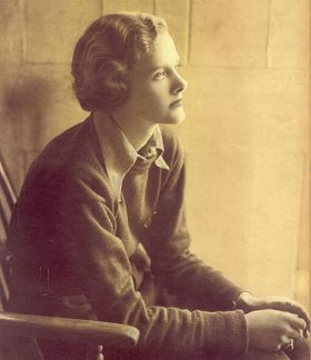 The young Daphne du Maurier