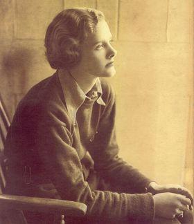 The young Daphne du Maurier